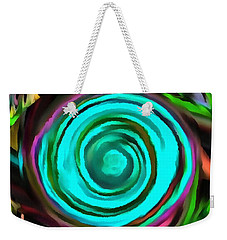 Weekender Tote Bag featuring the digital art Pulled by Catherine Lott