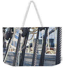Pulley And Stay Weekender Tote Bag