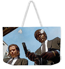 Pulp Fiction Artwork 1 Weekender Tote Bag