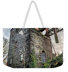 Weekender Tote Bag featuring the photograph Pump House by Adrian Evans