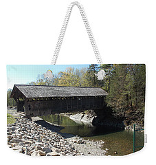 Pumping Station Covered Bridge Weekender Tote Bag