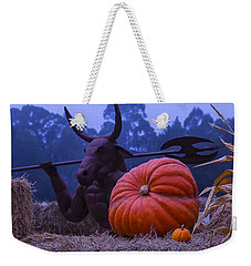 Pumpkin And Minotaur Weekender Tote Bag