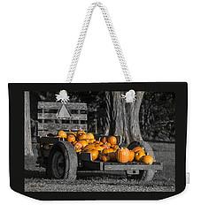 Pumpkin Cart Weekender Tote Bag