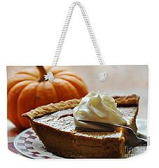 Pumpkin Delight Weekender Tote Bag by Cheryl Baxter