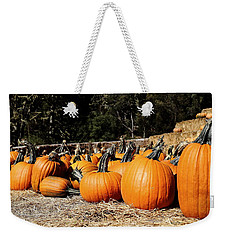 Pumpkin Goofing Off Weekender Tote Bag