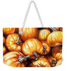 Pumpkin Palooza Weekender Tote Bag by Shana Rowe Jackson