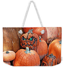 Pumpkin Patch Weekender Tote Bag by Aimee L Maher Photography and Art Visit ALMGallerydotcom