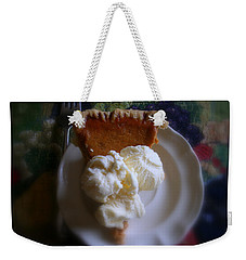 Pumpkin Pie A' La Mode Weekender Tote Bag