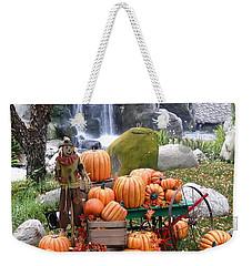 Pumpkin Waterfall Weekender Tote Bag