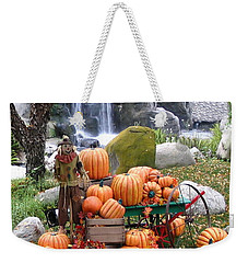 Pumpkin Waterfall Weekender Tote Bag