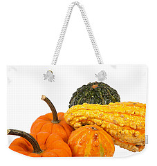 Pumpkins And Gourds Weekender Tote Bag
