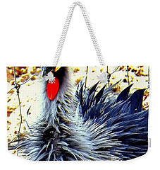 Weekender Tote Bag featuring the photograph Punk by Faith Williams