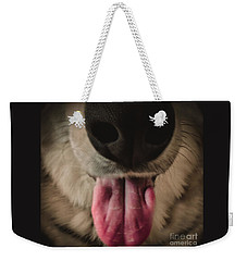 Puppy Breath Weekender Tote Bag