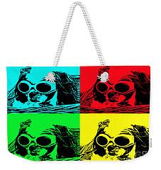 Puppy Mania Pop Art Weekender Tote Bag