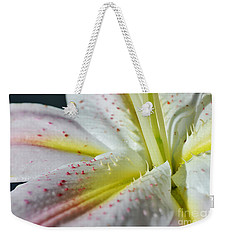 Pure And Fragrant Weekender Tote Bag by Felicia Tica