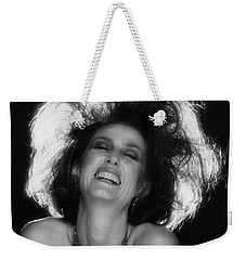 Weekender Tote Bag featuring the photograph Pure Joy by Mark Greenberg