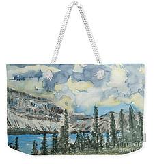 Pure North - Bow Lake Alberta Weekender Tote Bag