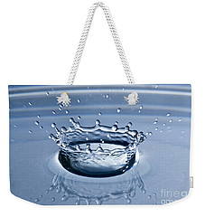 Pure Water Splash Weekender Tote Bag by Anthony Sacco