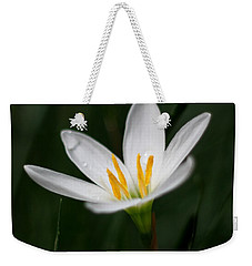 Pure White - Lily Weekender Tote Bag