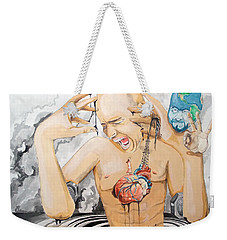 Purge Weekender Tote Bag by Lazaro Hurtado