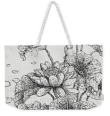 Purity And Beauty Weekender Tote Bag