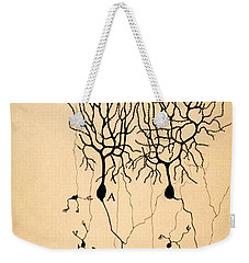 Purkinje Cells By Cajal 1899 Weekender Tote Bag