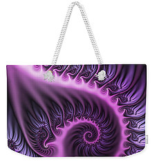 Purple And Friends Weekender Tote Bag by Gabiw Art