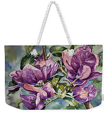 Purple Beauties - Bougainvillea Weekender Tote Bag