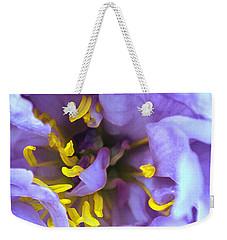 Purple Beauty Weekender Tote Bag by Tine Nordbred