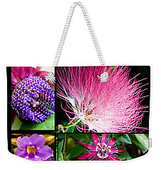 Purple Bouquet Weekender Tote Bag by Melinda Ledsome