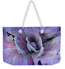 Purple Cabbage - Vegetable - Garden Weekender Tote Bag