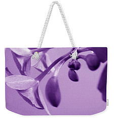 Purple Charm Weekender Tote Bag