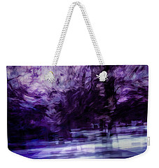 Purple Fire Weekender Tote Bag