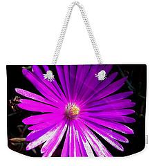 Purple Glow Weekender Tote Bag by Pamela Walton