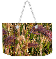 Purple Grasses Weekender Tote Bag