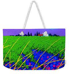Purple Hills Weekender Tote Bag