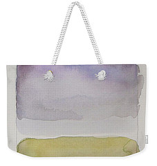 Purple Morning Weekender Tote Bag