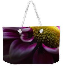 Purple Mum Macro Weekender Tote Bag