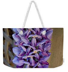 Purple Orchid Like Flower Weekender Tote Bag