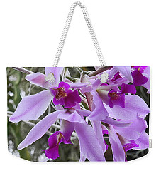 Purple Orchid Personality Weekender Tote Bag