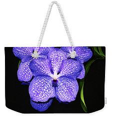 Purple Orchids - Flower Art By Sharon Cummings Weekender Tote Bag by Sharon Cummings