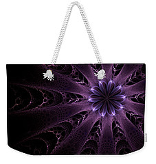 Purple Passion Weekender Tote Bag by GJ Blackman
