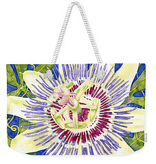 Purple Passion Weekender Tote Bag