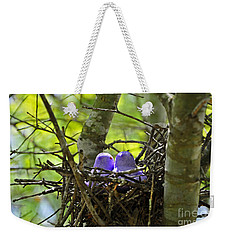 Purple Peeps Pair Weekender Tote Bag