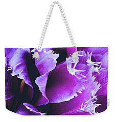 Purple Perfection Weekender Tote Bag
