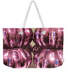 Purple Reflection Weekender Tote Bag