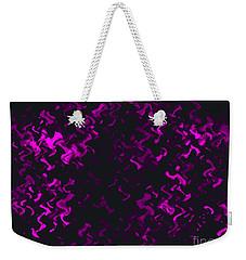 Purple Ripples Weekender Tote Bag by Anita Lewis