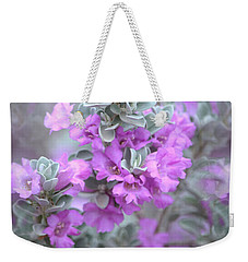 Purple Sage Weekender Tote Bag by Deb Halloran