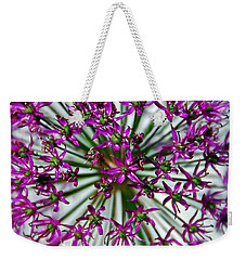Purple Starlight Weekender Tote Bag by Aimee L Maher Photography and Art Visit ALMGallerydotcom