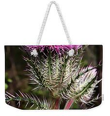 Purple Thistle  Weekender Tote Bag